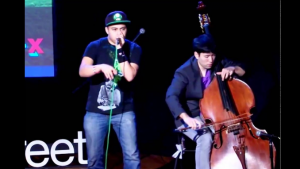 Beatboxer Jonathon Lopez and Cellist Man Wai Che