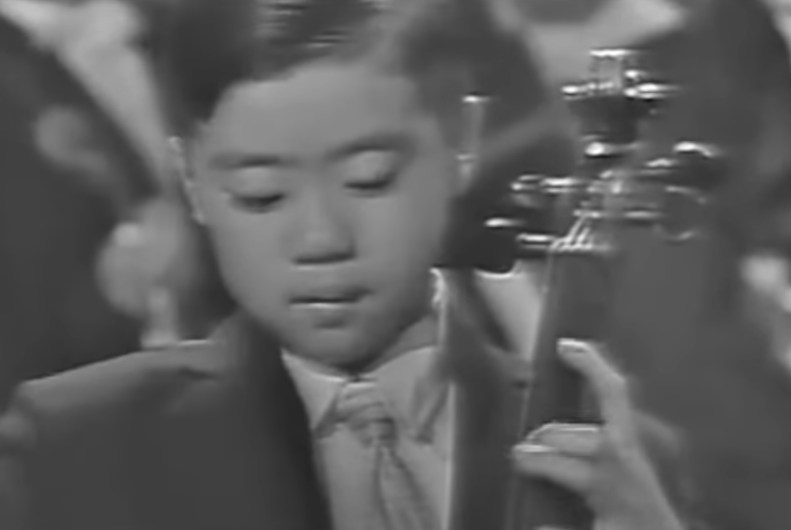 Yo-Yo M debuts at age 7 img