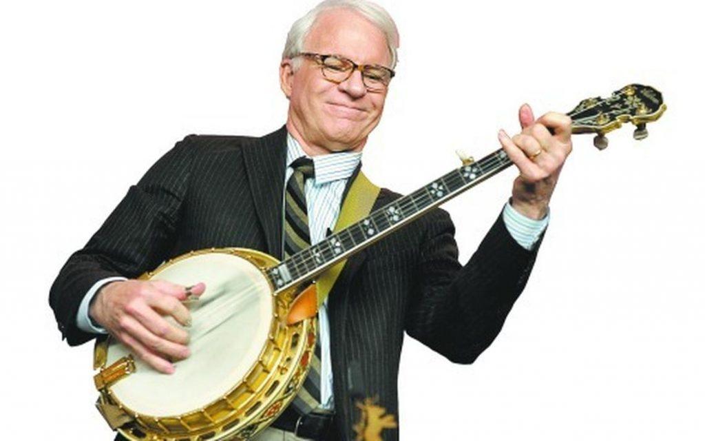 Steve Martin on banjo